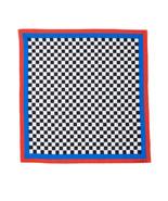 Clare V. Checker Print Bandana (Red/Blue) - $42.47