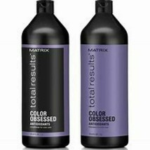 Matrix Total Results Texture Color Obsessed Shampoo and Conditioner Liter Duo - $40.00