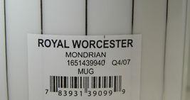Royal Worcester Mondrian Mugs Set of 8 image 5
