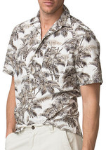 Chaps Men's Tropical Hawaiian Print Camp Shirts Brown or Mult Size XL New w/Tags - $9.89