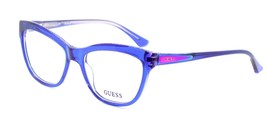 GUESS GU2463 BLPUR Women's Eyeglasses Frames 55-17-140 Blue / Purple + CASE - $56.90