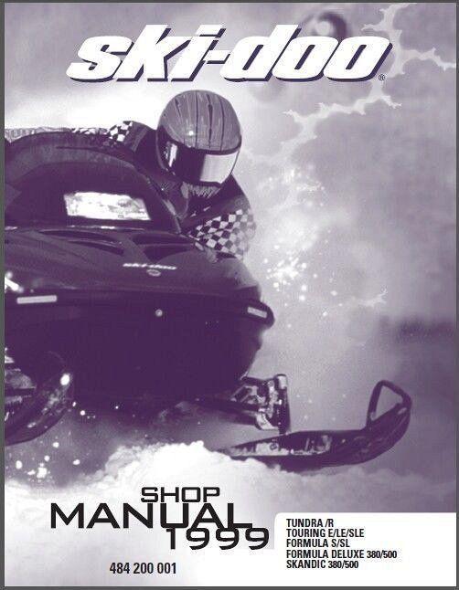 1999 Ski Doo Tundra Touring Formula And 50 Similar Items