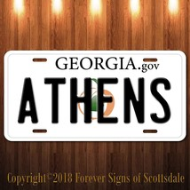 Athens City/College Georgia State Aluminum Vanity License Plate - $12.82