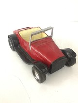 1960 Vintage NYLINT Toys Model T Roadster Hot Rod Metal Toy Car red - $46.74