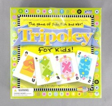 Tripoley For Kids! Snap, Fish & War Card Game by Cadaco 2003 2-6 Players SEALED - $14.80