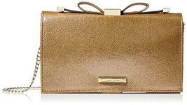 Anne Klein Time To Indulge Convertible Clutch Gold/metallic - $34.65