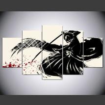 Bleach Anime poster Print   5 Piece Canvas Art Wall Art Picture Home Decor - $22.80+