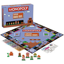 8-Bit Version Super Mario Bros. Collector's Edition Monopoly Board Game  - $49.99