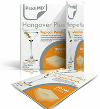 PatchMD Hangover Plus - Topical Patch (30 Day Supply) - EXP 2020 - $14.45