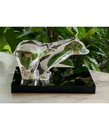 Baccarat Ours Wall Street Bear French Crystal New Mint Retail $635 Rare - $394.02