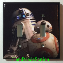 Star Wars BB8 BB-8 R2D2 Robot Light Switch Power Outlet wall Plate Cover decor image 5