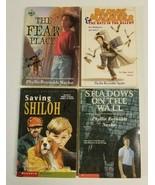 Lot of 4 PHYLLIS REYNOLDS NAYLOR Books Shiloh Fear Place Boys Chapter Se... - $9.99