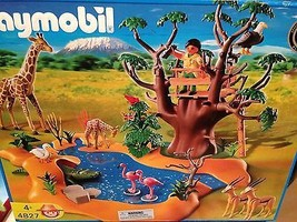 Playmobil 4827 African Wild Life Set New Sealed - $256.70