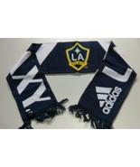 Adidas MLS Soccer Scarf Acrylic L.A GALAXY White Blue Striped MLS Team L... - $15.00