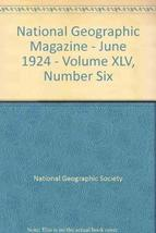 National Geographic June 1924 - $7.45