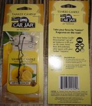 12 new yankee candle classic car jar air freshener meyer lemon scent - $26.00