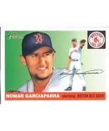 2004 Topps Heritage #2 Nomar Garciaparra Red Sox NM-MT (SP - Short Print)  - $10.23