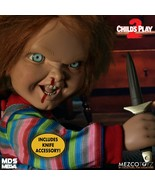 Mezco Toyz MDS Childs Play 2 Talking Menacing Chucky Horror Doll Figure 78023 - $117.95