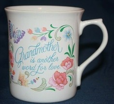 1983 Vintage Hallmark Cup Grandmother Is Another Word For Love - $10.90