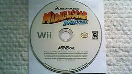 Madagascar Kartz (Nintendo Wii, 2009) - $6.45