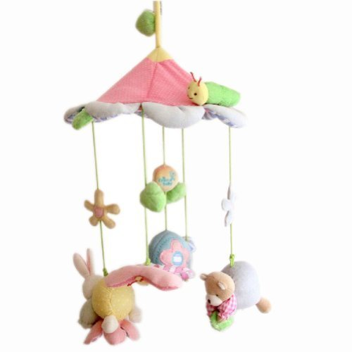Forest Toddle Bed Decor Infant Dreams Baby Cribs Mobile Music Take Along Swings