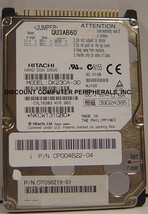 DK23CA-30 Hitachi 30GB 2.5in IDE Drive Tested Good Free USA Ship Our Drives Work