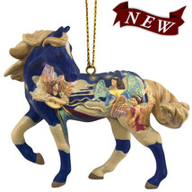 Angels on High Holiday Painted Pony Ornament - $25.95