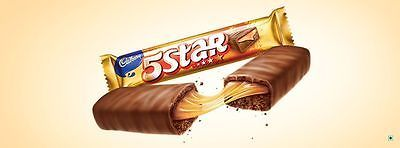 Cadbury  Cadbury 5 Star  Chocolate Bar  Caramel + Chocolate  12x 21.5 Gm