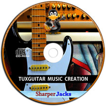 NEW & Fast Ship! TuxGuitar Multitrack Guitar Tablature Editor & Player S... - $11.67