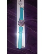Turquoise Round Confetti Watch NEW!  - $10.81