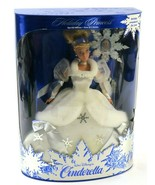 Walt Disney 1996 Holiday Princess Cinderella Mattel 16090, New Old Stock - $39.59