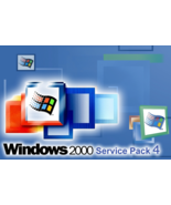 Windows 2000 Service Pack 4 Final 2011 Edition - No Product Key Needed - $19.99