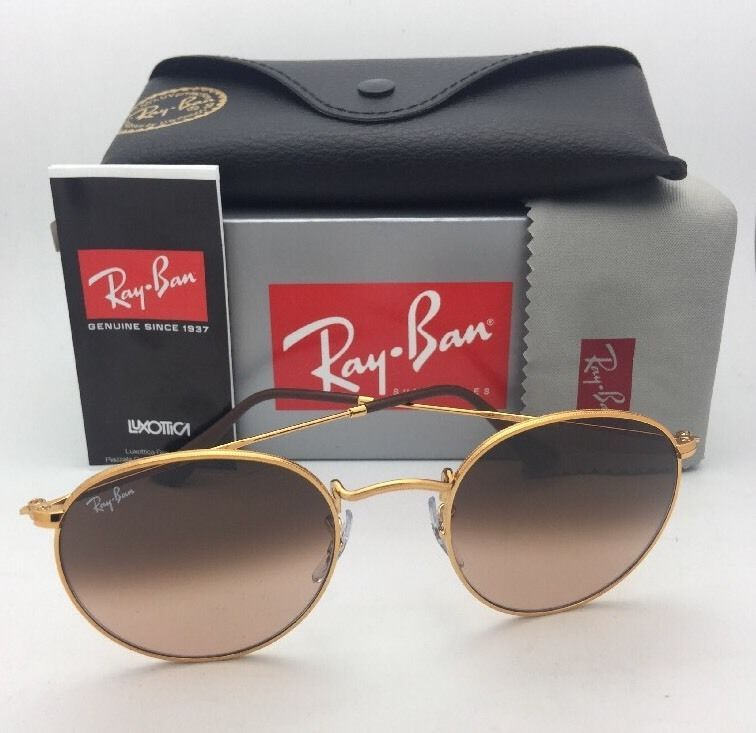 a317ecea5b2bc RAY-BAN Sunglasses ROUND METAL RB 3447 9001 A5 53-21 ...