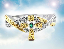 HAUNTED RING THOU SHALL NOT CROSS EXTREME PROTECTION  MAGICK MYSTICAL TREASURE - $138.89