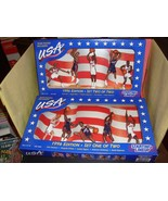 1996 Starting Lineup USA Olympic Basketball Complete Set 1 & 2 New In Bo... - $25.19