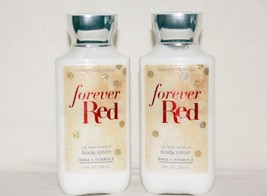 Bath & Body Works Forever Red 24 Hour Moisture Body Lotion 8 fl. Oz Quan... - $24.25