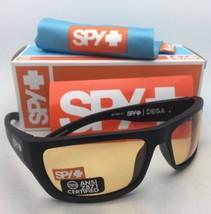 New SPY OPTIC Safety Sunglasses DEGA Matte Black Frame w/ ANSI Z87.1 Yellow Lens