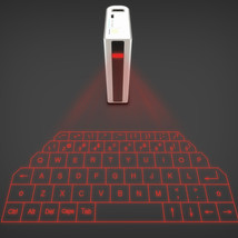 Wireless Bluetooth Laser Projection Virtual Keyboard with 5200mAh Mobile Power B