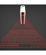 Wireless Bluetooth Laser Projection Virtual Keyboard with 5200mAh Mobile... - $45.80