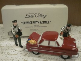 DEPARTMENT 56- RETIRED- 54865 SERVICE WITH A SMILE NEW IN BOX -L131 - $34.95