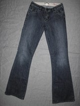 "SILVER Trousers Denim Jeans  CHANTAL  Size 26 L34"" - $11.99"