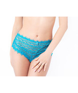 MIMI HOLLIDAY Bisou Bisou Gooseberry Lace and Silk High Waistrf Knicker ... - $43.46