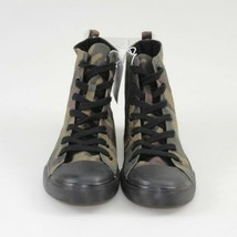 Brand New Womens Mossimo Lux High Top Camo Print Canvas Sneaker NWT image 2
