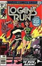 Logan's Run #6 (of 7) Marvel Comics 1977 Fine Condition (THANOS) - $44.10