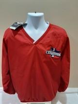Boston Red Sox 2013 World Series Champions MLB Windbreaker Jacket Mens Large NWT - $21.24