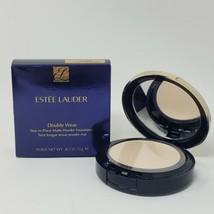 Estee Lauder Double Wear Stay In Place Matte Powder Foundation 1W0 Warm Porcelai - $32.71
