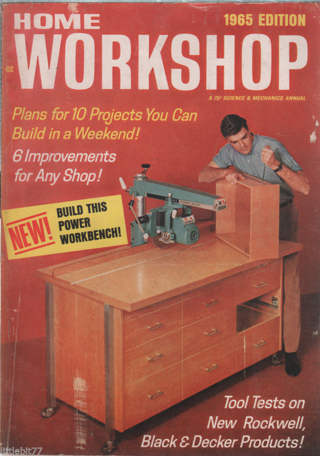 Primary image for Popular Mechanics Magazine 1965 Edition Build in a Weekend!