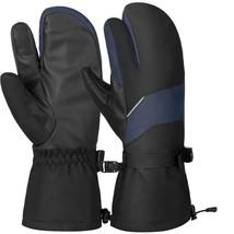 Unisex Ski Thick Gloves Warm Winter Touch Screen Gloves Outdoor Sport Mi... - $447,27 MXN