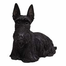Pacific Giftware PT Realistic Large Size Statue Black Scottish Highlands... - $79.19