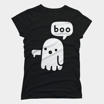 Ghost Of Disapproval Women T-shirt Black - $20.85